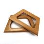 Alças de madeira Trapézio M COR 1 - PAR
