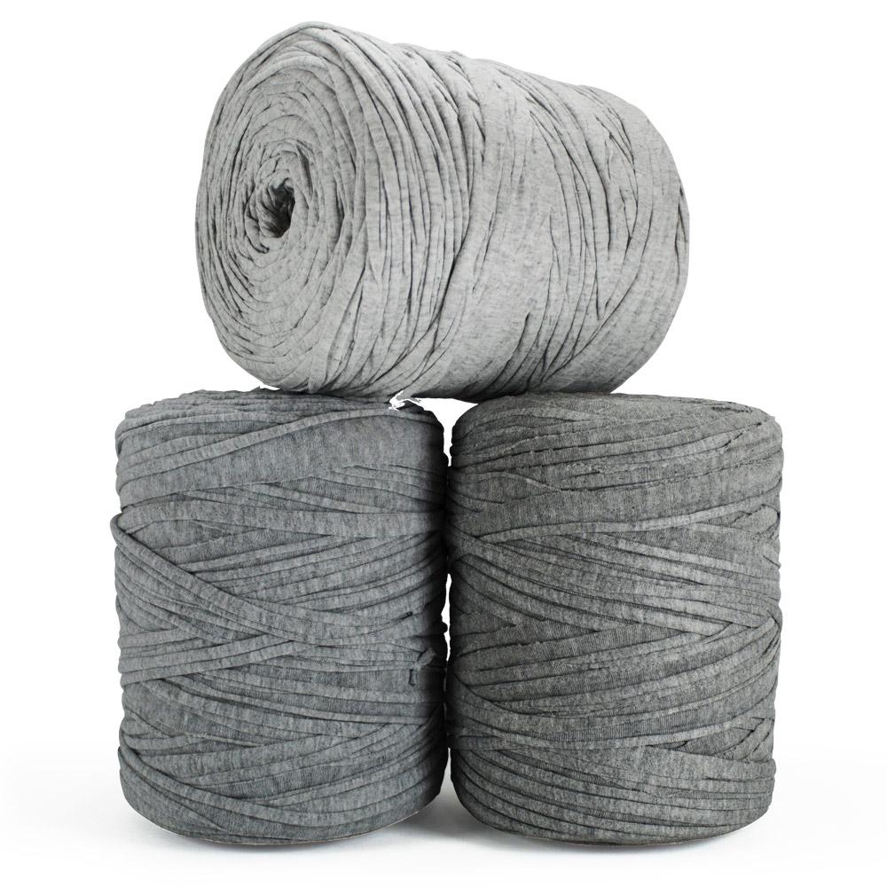 Fio de Malha 140m - Tons de cinza mescla claro - Unidade