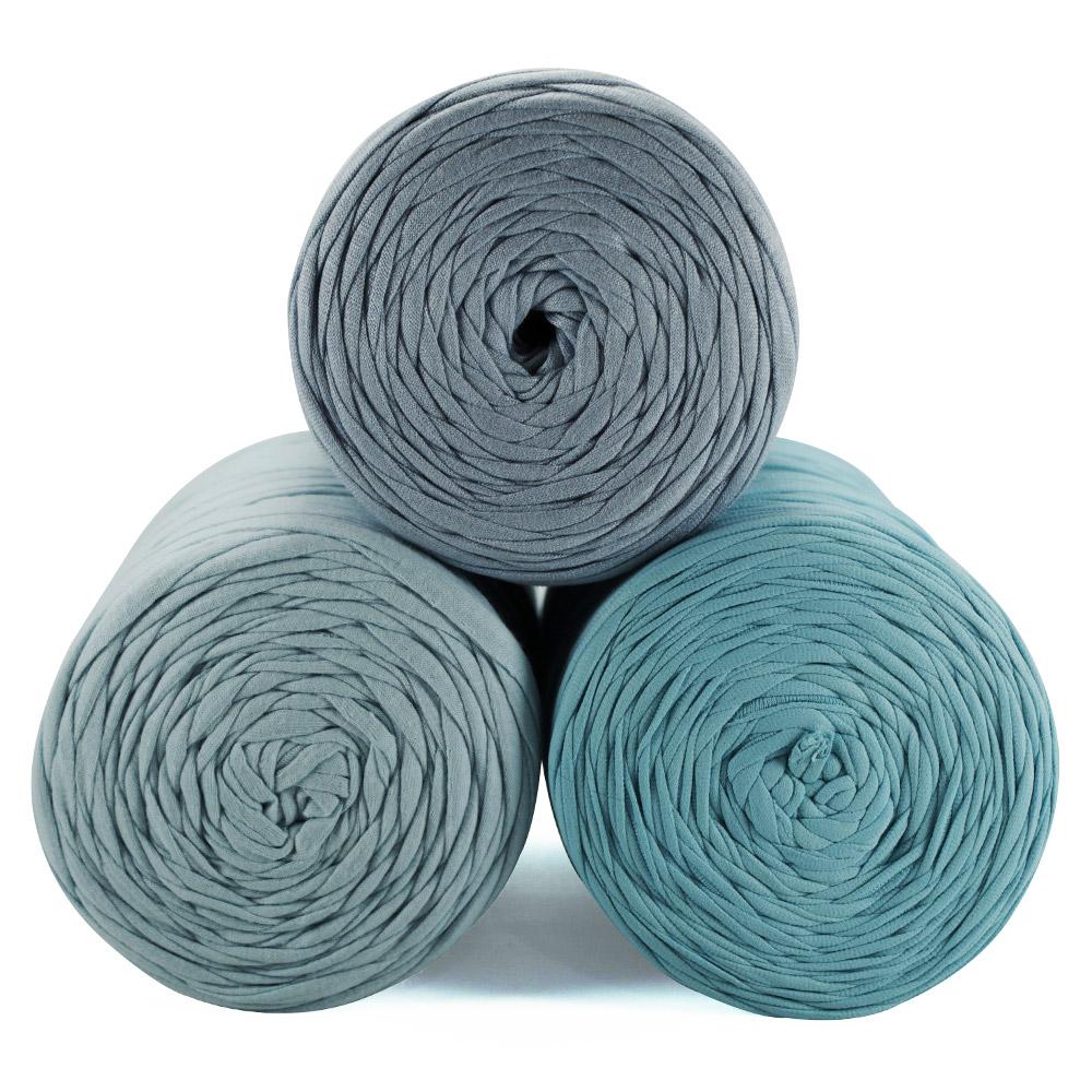 Fio de Malha 80m - Tons de azul claro - Unidade