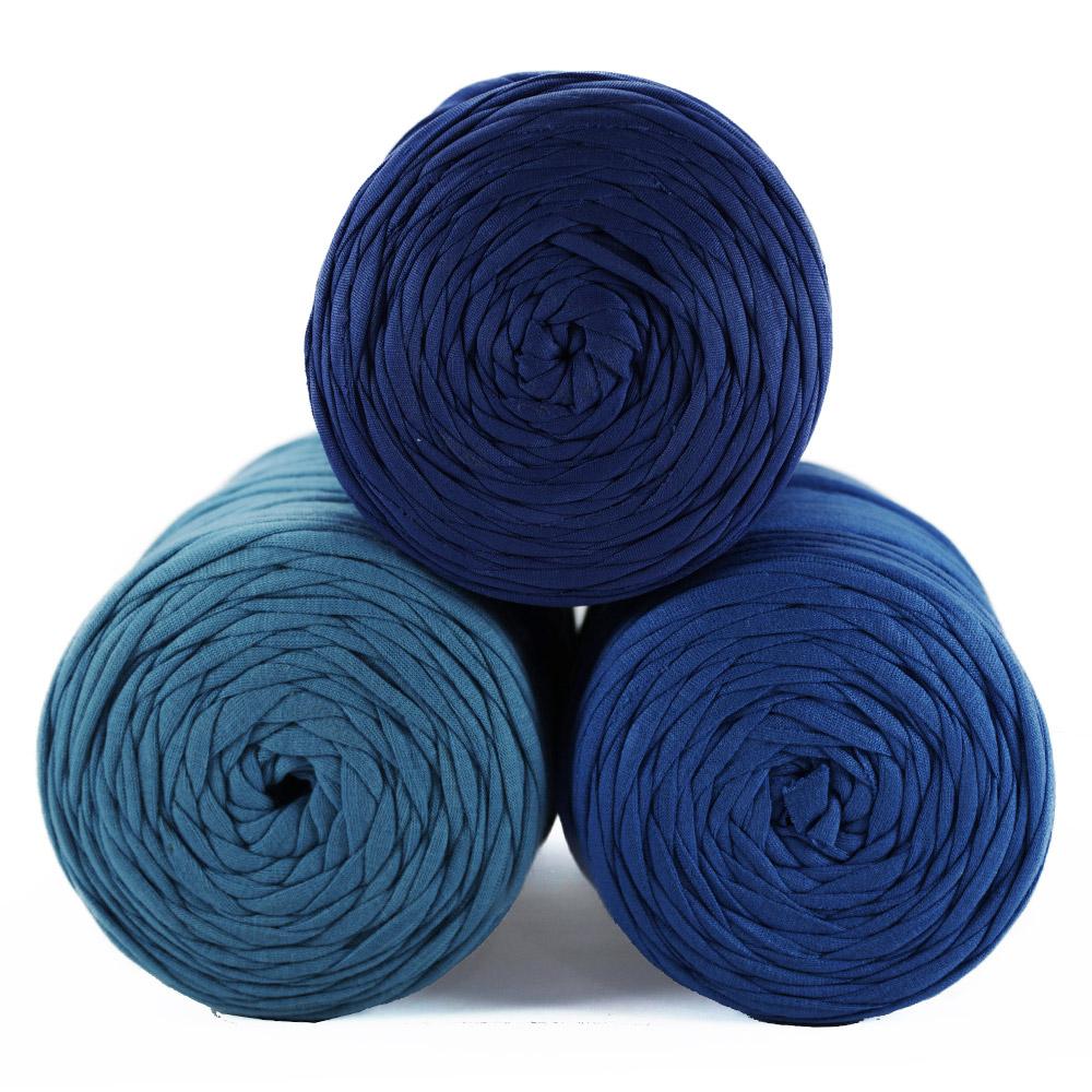 Fio de Malha 80m - Tons de azul médio - Unidade