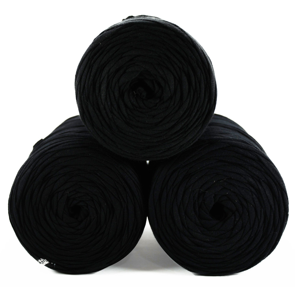 Fio de Malha 80m - Tons de preto - Unidade