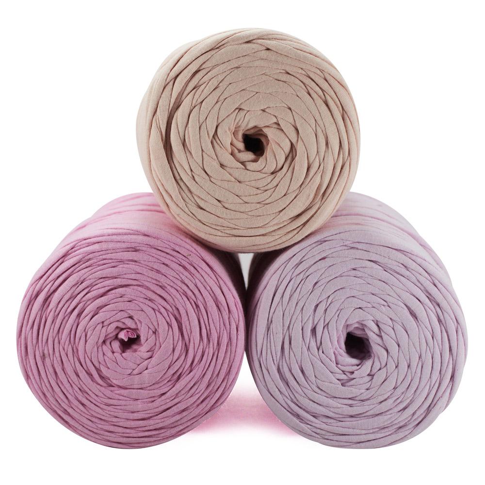 Fio de Malha 80m - Tons de rosa claro - Unidade