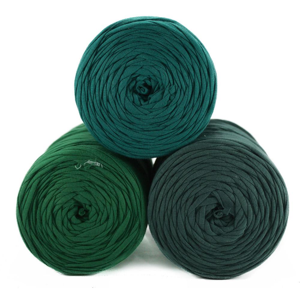 Fio de Malha 80m - Tons de verde médio - Unidade