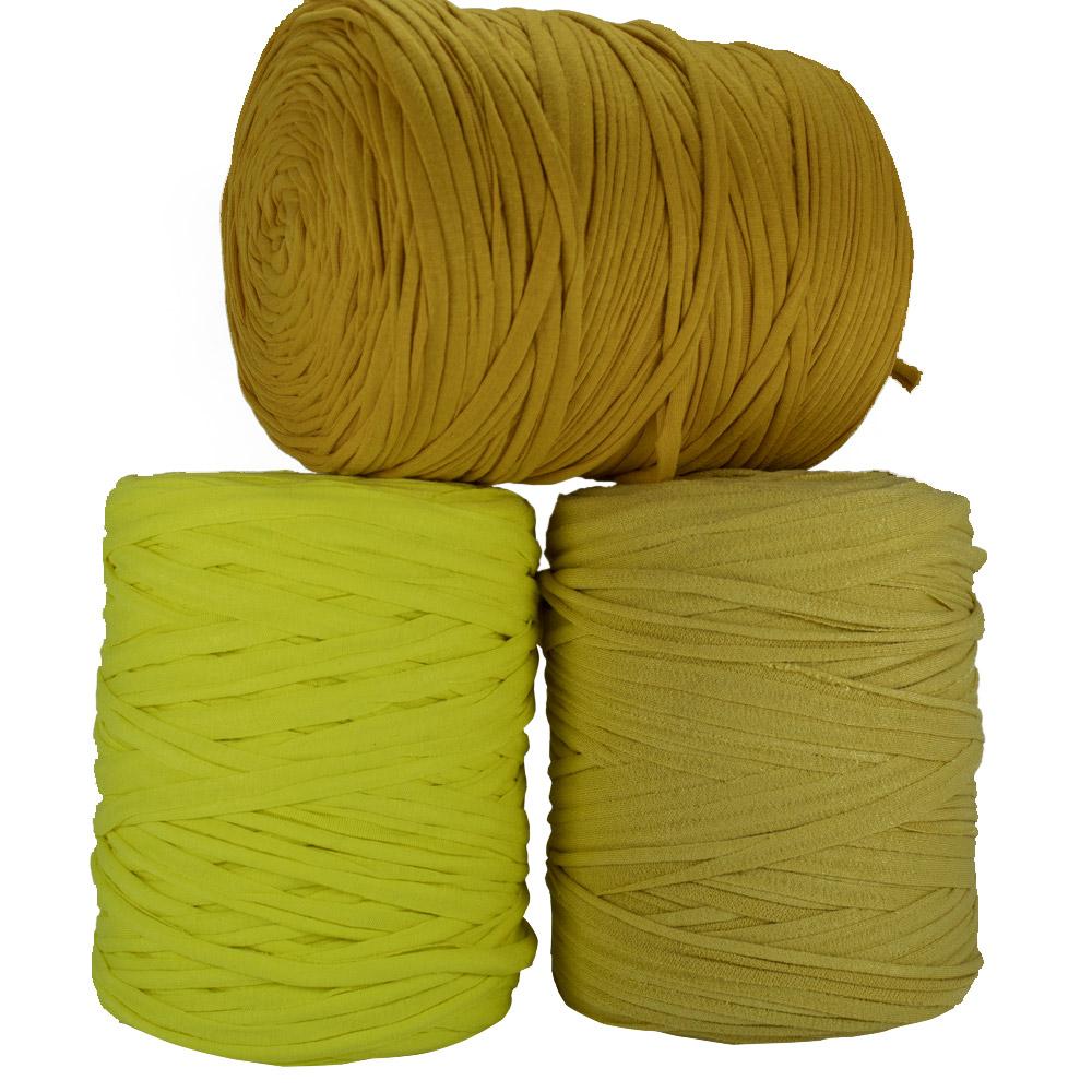 Fio de Malha 140m - Tons de amarelo - Unidade