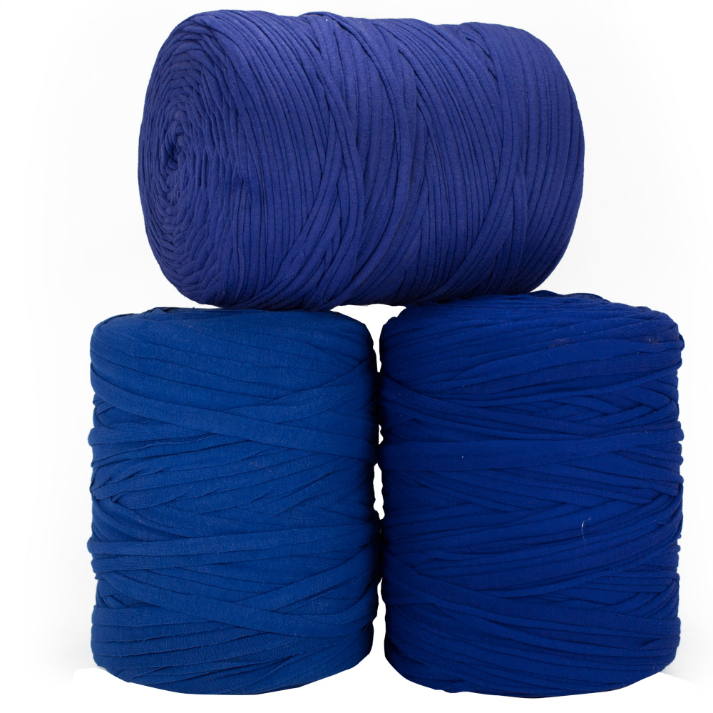 Fio de Malha 140m - Tons de azul médio - Unidade