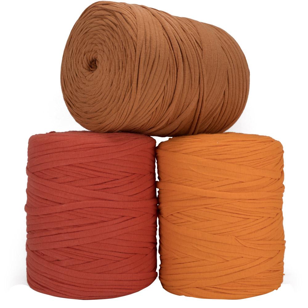 Fio de Malha 140m - Tons de laranja - Unidade