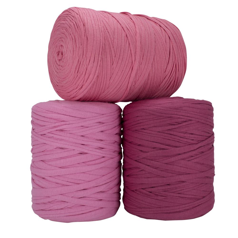Fio de Malha 140m - Tons de rosa médio - Unidade