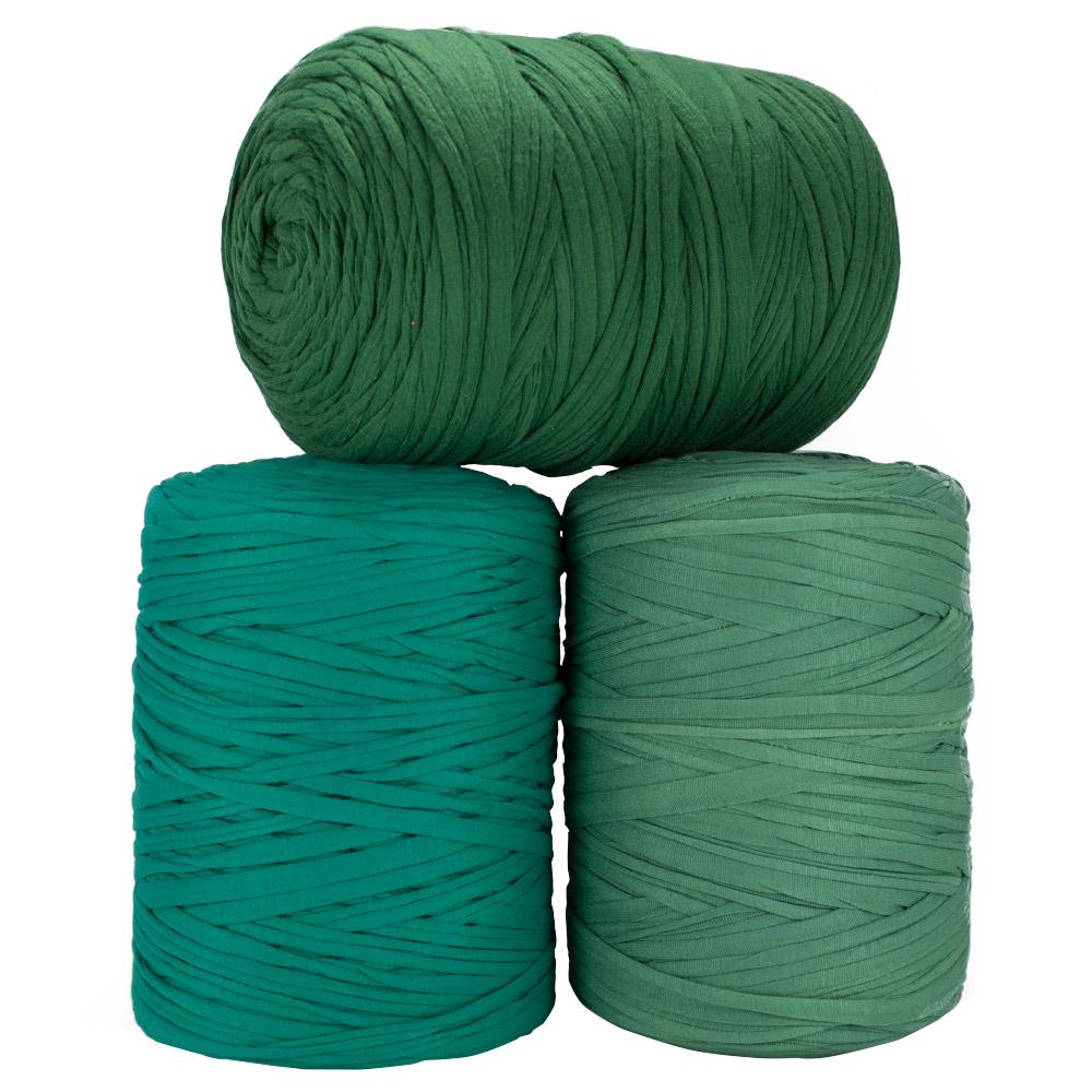 Fio de Malha 140m - Tons de verde médio - Unidade