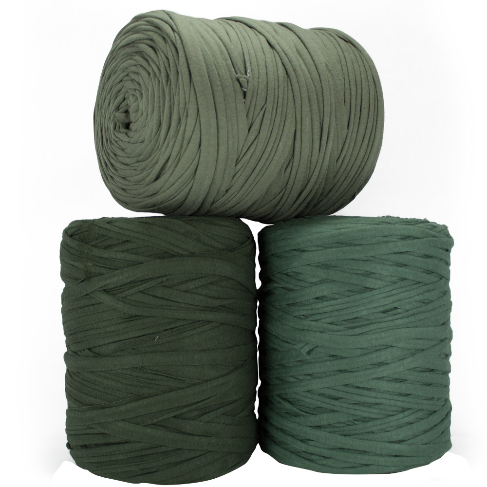 Fio de Malha 140m - Tons de verde militar - Unidade