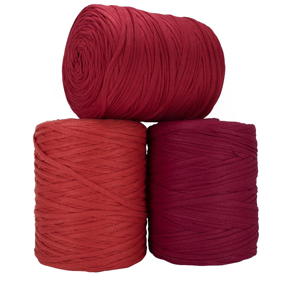 Fio de Malha 140m - Tons de vermelho - Unidade