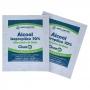 Higienizador de Bolso Clean Implastec - Lenço Umedecido em Álcool Isopropílico 70% - Caixa com 50 Sachês