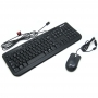 Kit Teclado e Mouse com Fio Microsoft Wired Desktop 600 for Business - ABNT2 - Preto - 3J2-00006
