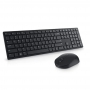 Kit Teclado e Mouse Sem Fio Dell KM636 Wireless - ABNT2 - 1000dpi - Preto