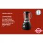 Liquidificador Philips Walita Viva Collection RI2131/90 - Jarra Duravita Inquebrável 2,4L - com Filtro - 1000W - Preto