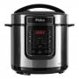 Panela de Pressão Elétrica Inox Philco 6 Litros - Painel Digital com Timer e 14 Funções - 1000W - Silver - PPP01S