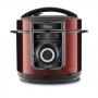 Panela de Pressão Elétrica Philco Multifuncional 5 Litros Inox 900W - PPP02VI - Vermelho