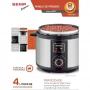 Panela De Pressão Elétrica Semp Supreme - Inox - 4 Litros - 800w - Receitas Pré-programadas - Função Aquecer - PP6016