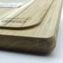 Tábua para Churrasco Tramontina Retangular em Madeira Teca - 40x28cm - em Acabamento Lixado - 10239/615