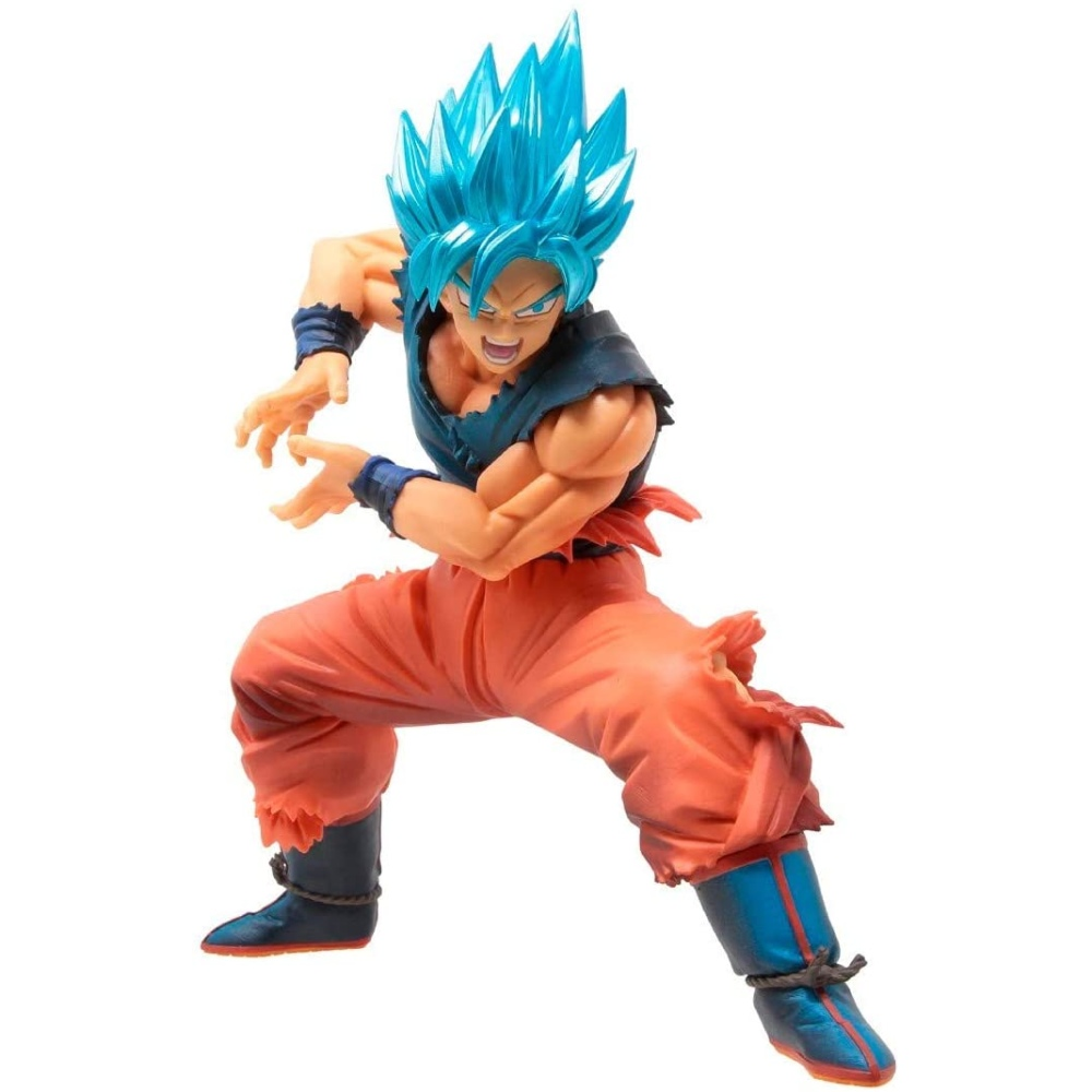 Action Figure Dragon Ball Super - Goku Super Sayajin Blue - Maximatic - Bandai Banpresto 20721/20722