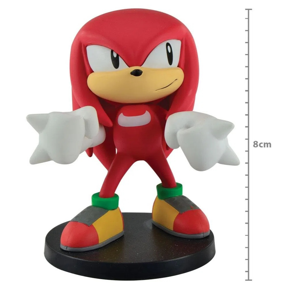 Action Figure Sonic The Hedgehog - Boom Series  Vol 4 - Knuckles - First4Figure SNBOOMVOL4