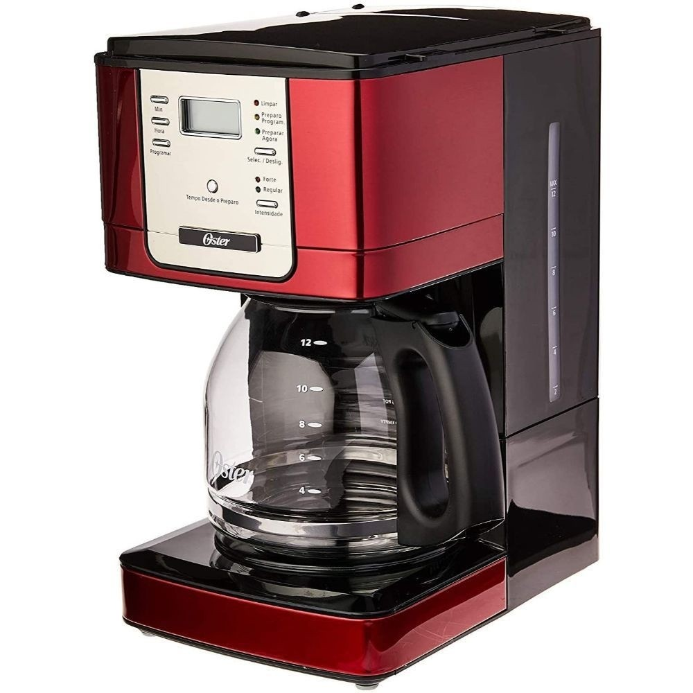 Cafeteira Elétrica Digital Oster Flavor - Timer Programável - Jarra 1,8L - Filtro Permanente Removível - BVSTDC4401R