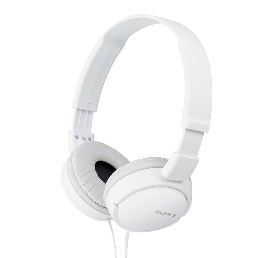Fone de Ouvido Dobrável SONY MDR-ZX110 - Conector P2 3.5mm - Branco