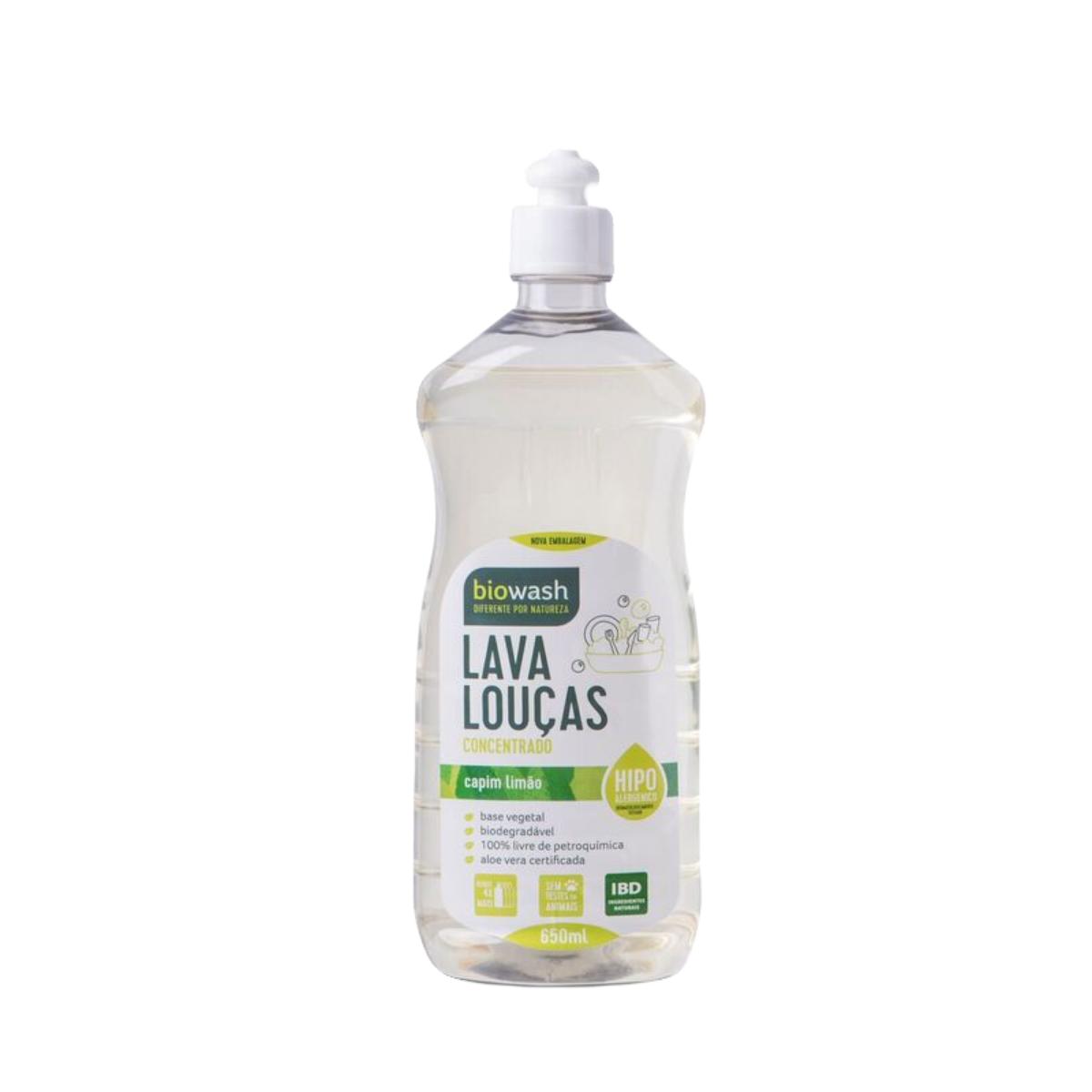 Lava Louças 650ml - Capim Limão