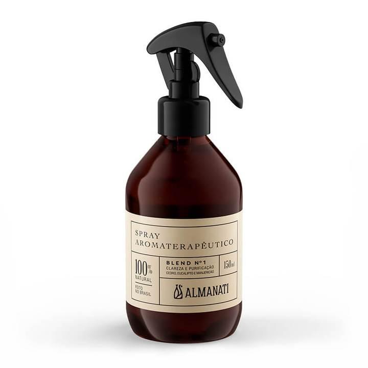 Spray Aromat. Para Clareza E Purificação - Blend 1