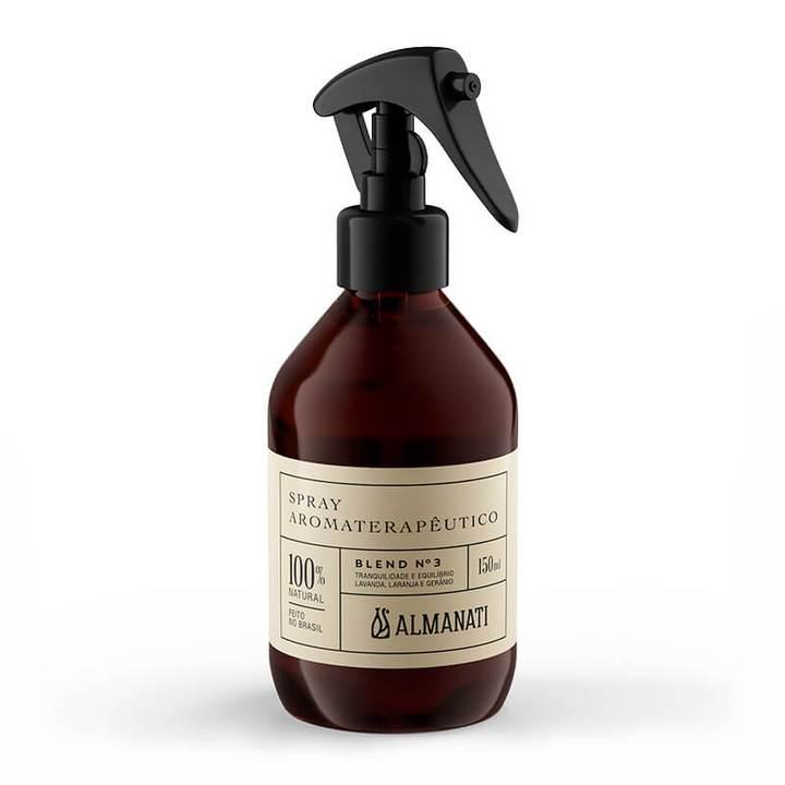 Spray Aromat. Para Tranquilidade E Equilíbrio - Blend 3