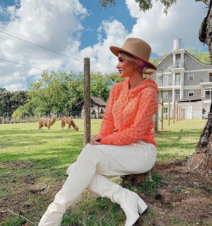 tricot lírio