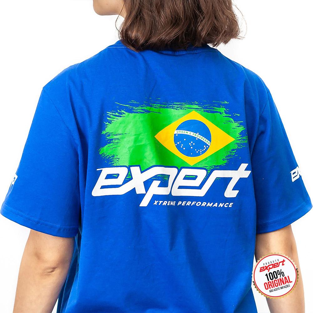 Camiseta Expert Racing Brasil - Feminina