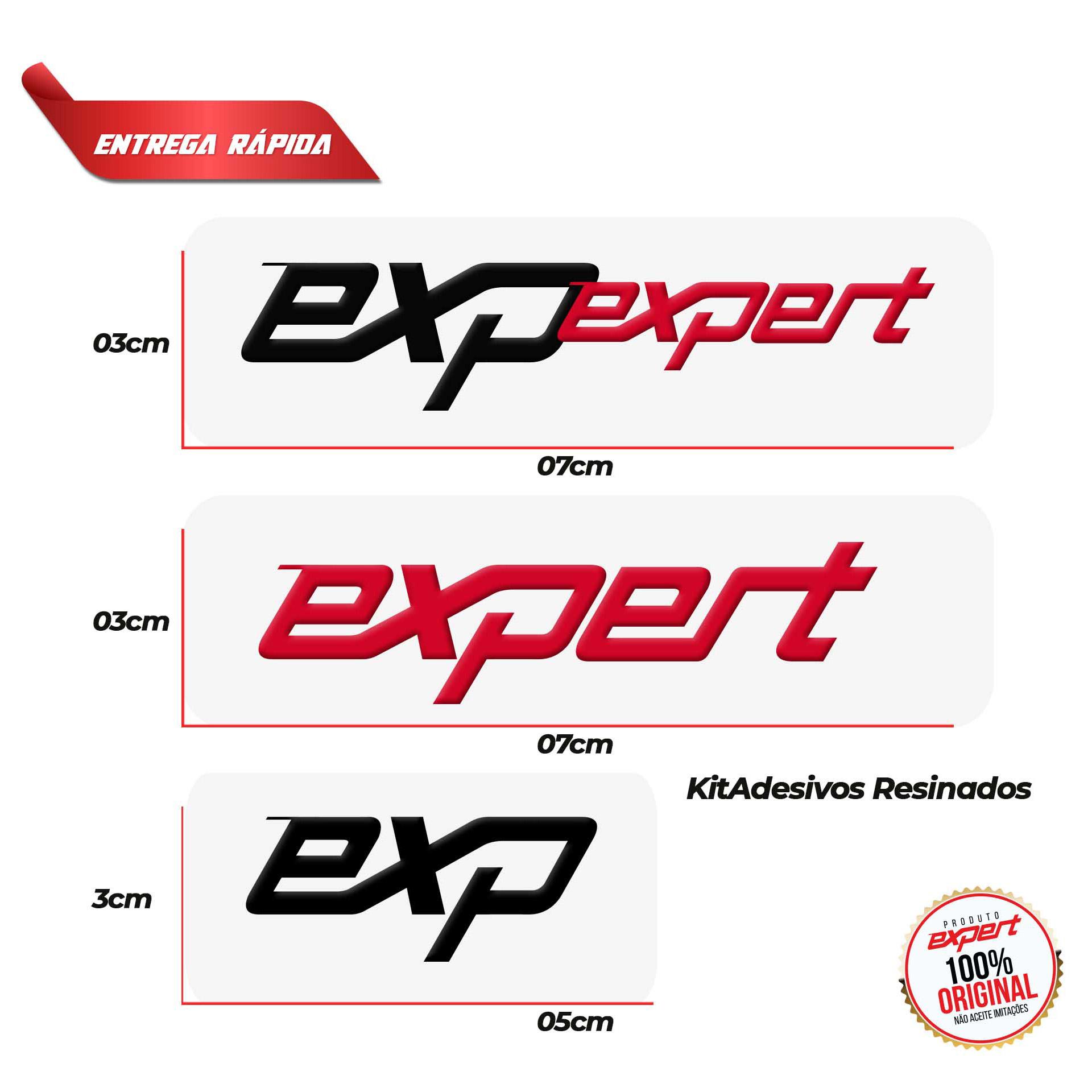 Kit Adesivo Resinado Expert