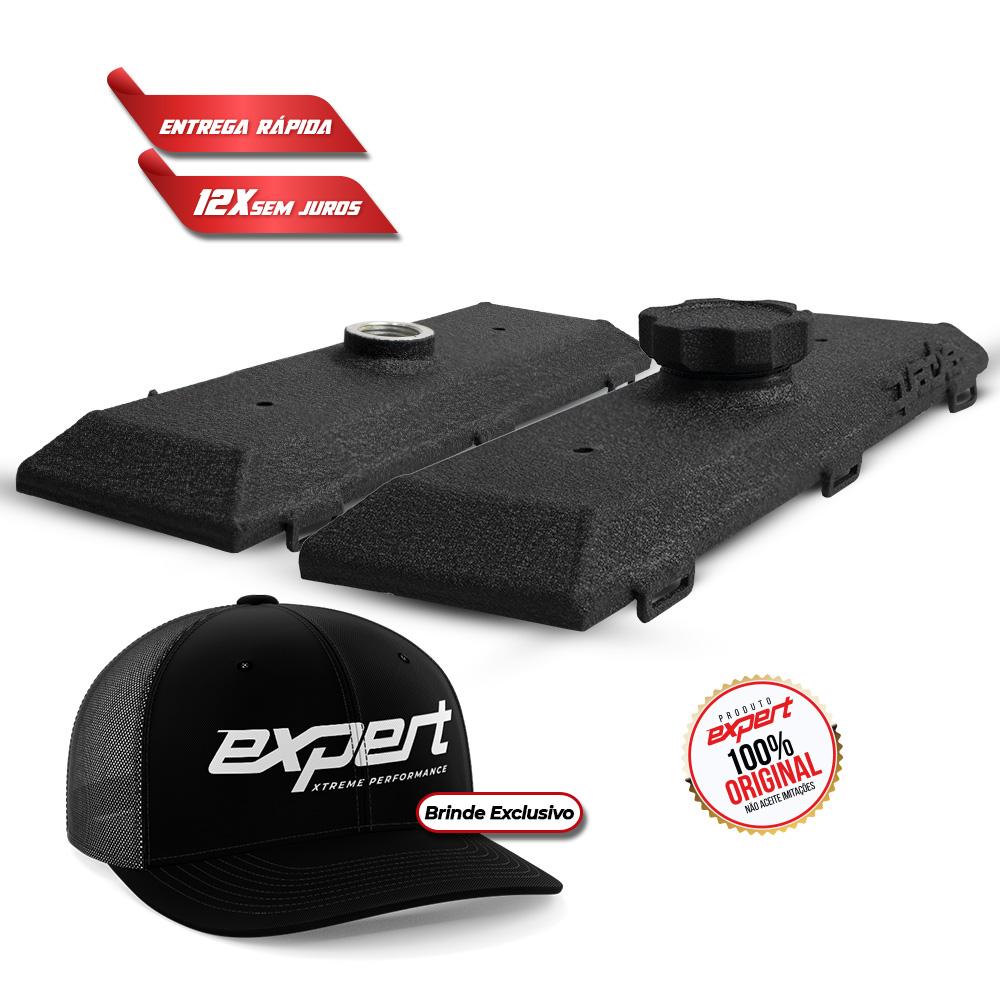 Tampa de Válvula GM Chevette (preto texturizado)