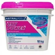 CLORO OXY POWER MULTI ASTRALPOOL 10KG - FLUIDRA