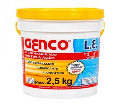 CLORO L. E. GRAN. MULTACAO 2,5KG - GENCO