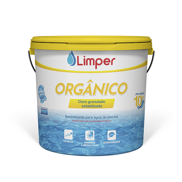 CLORO ORGANICO 10 KG - LIMPER