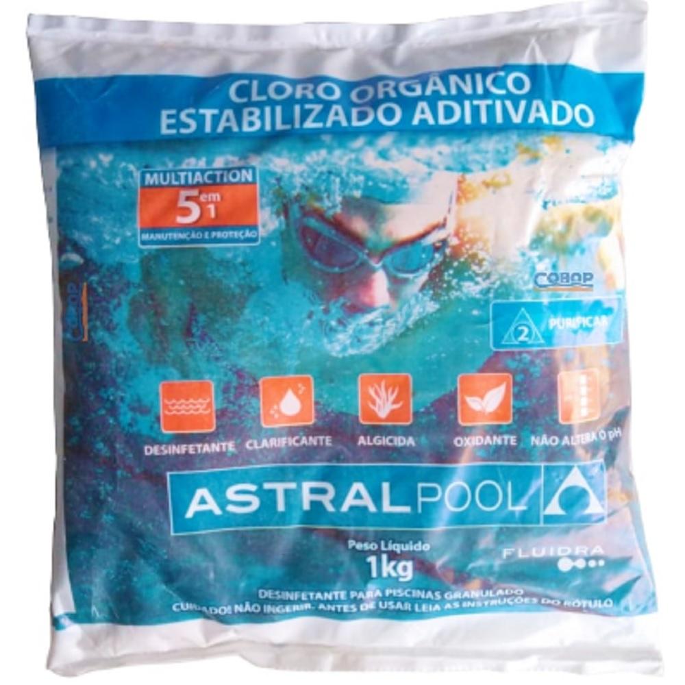CLORO ORGANICO 1KG MULT 5X1 ASTRALPOOL - FLUIDRA