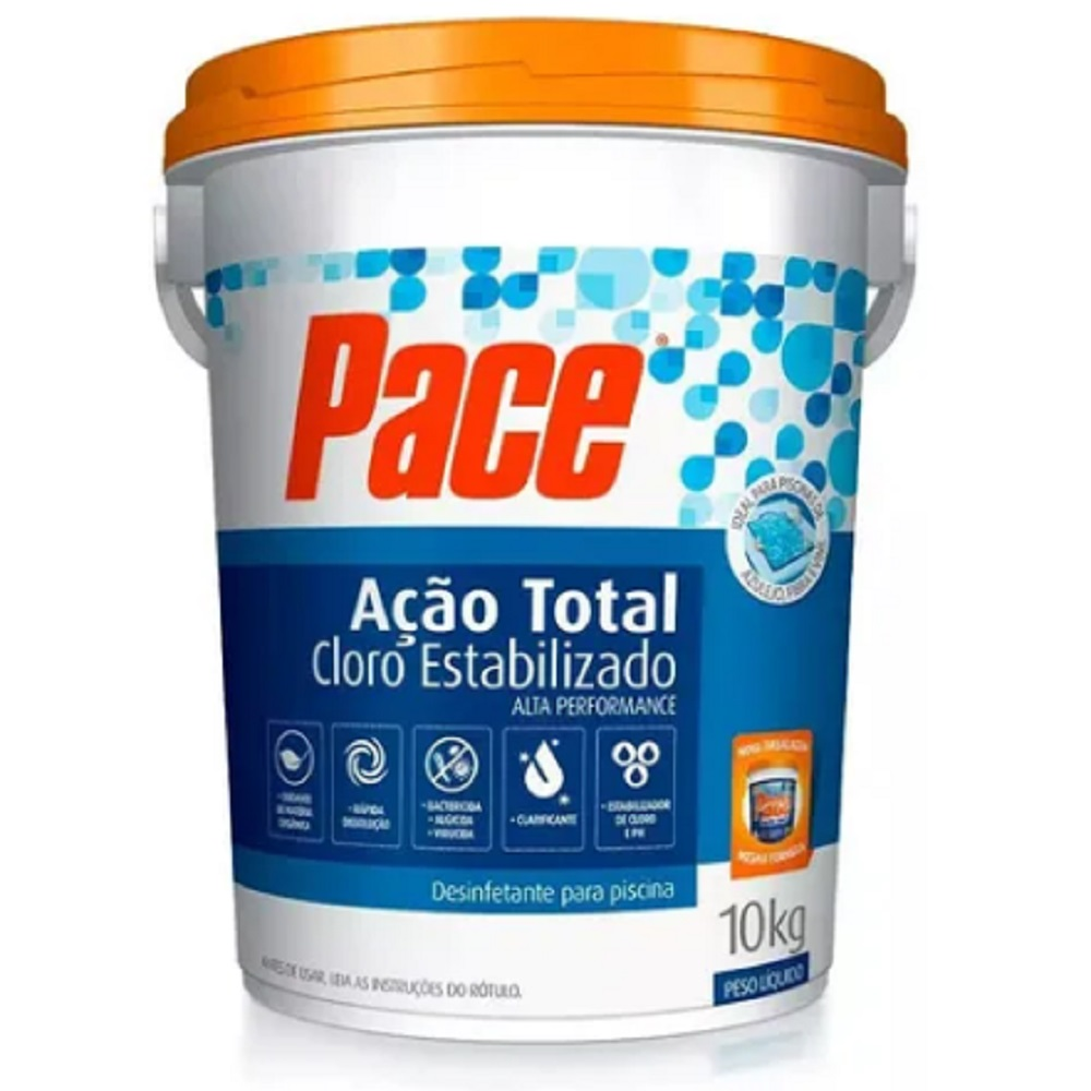 CLORO PACE-ACAO TOTAL 10KG HTH - ARCH