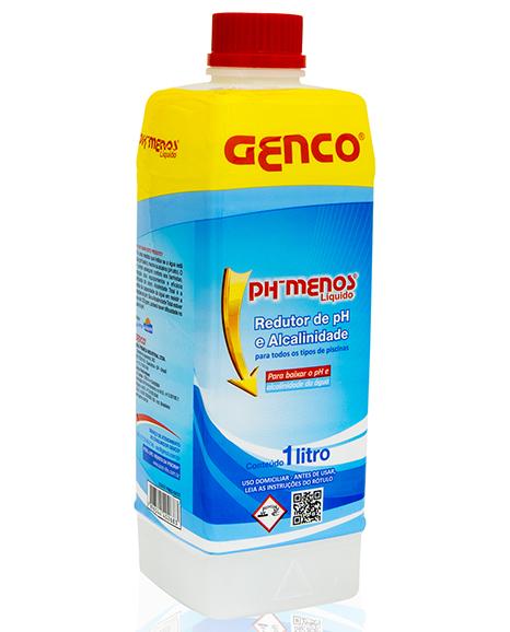 PH - MENOS LIQUIDO 1LT ACIDULANTE GENCO