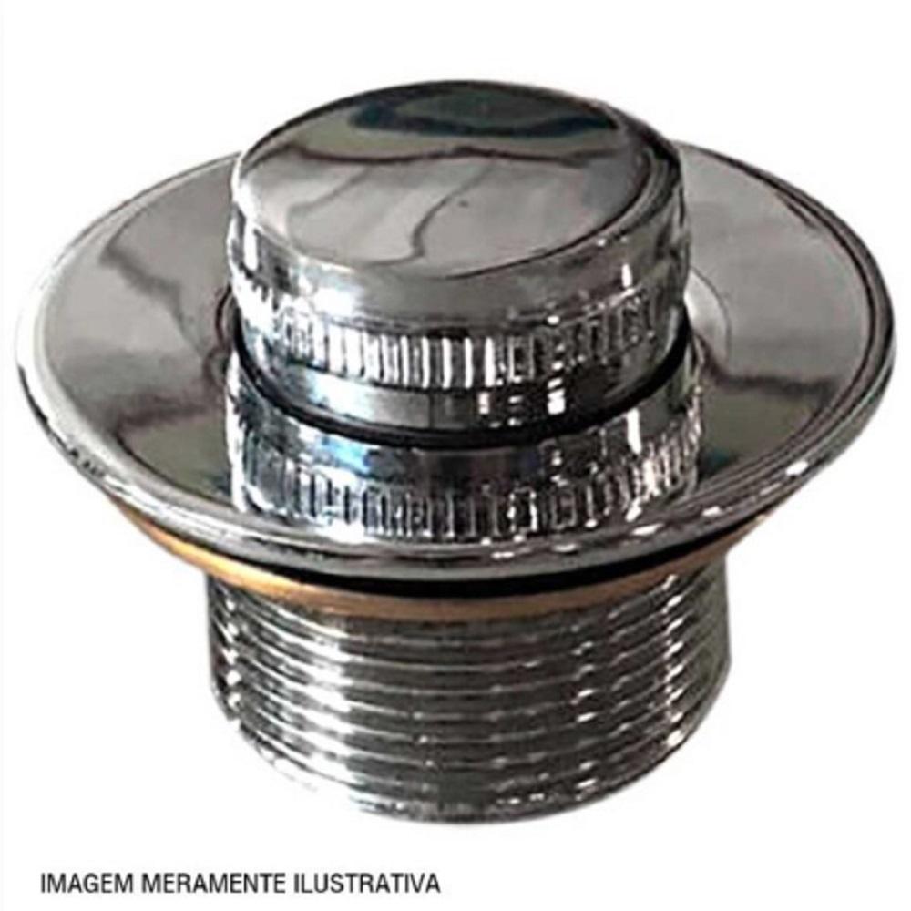 VALV. DE FUNDO METAL CROMADO 1.1/2  - ALBACETE