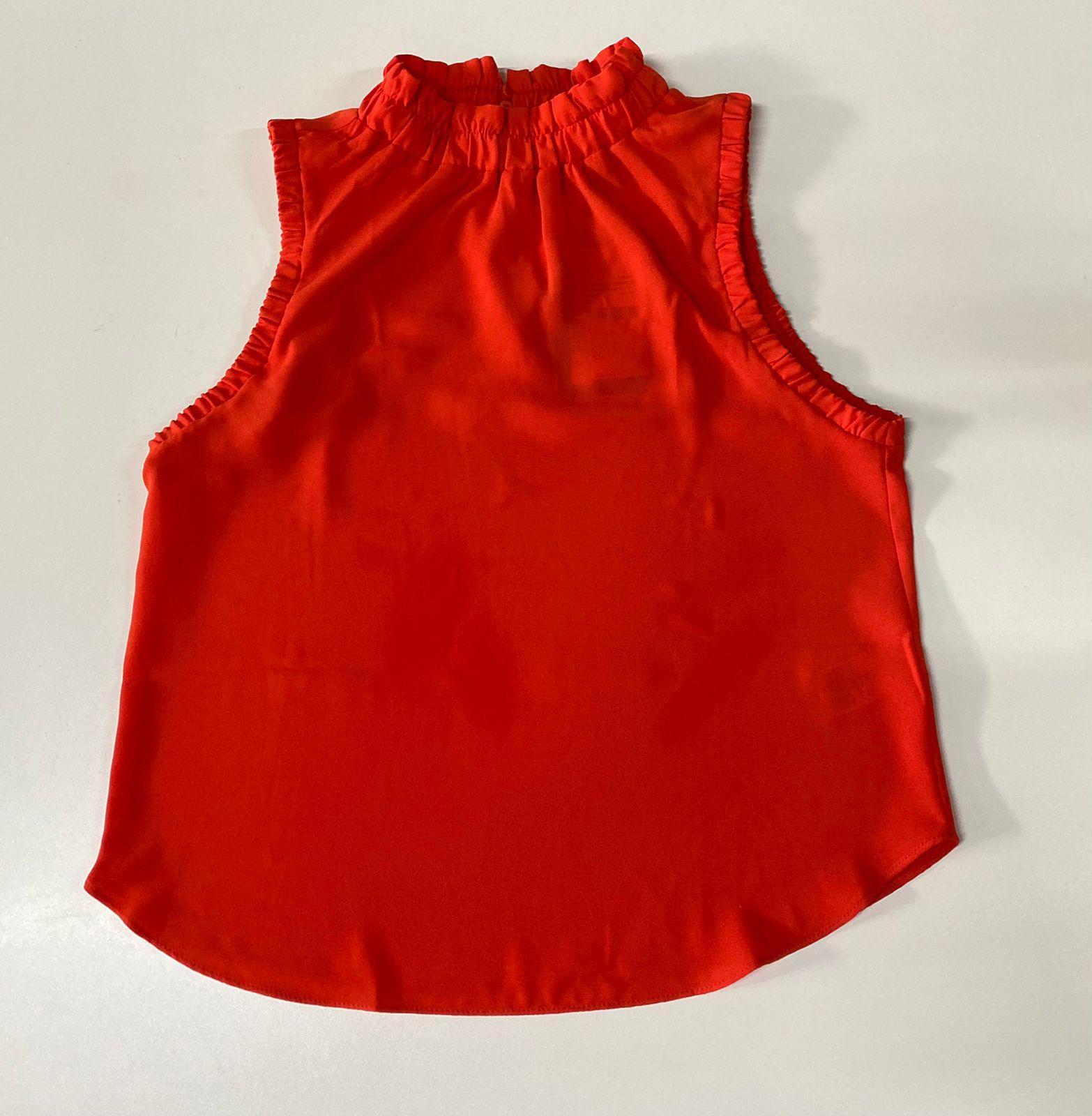 Blusa Decote Redondo Morena Rosa