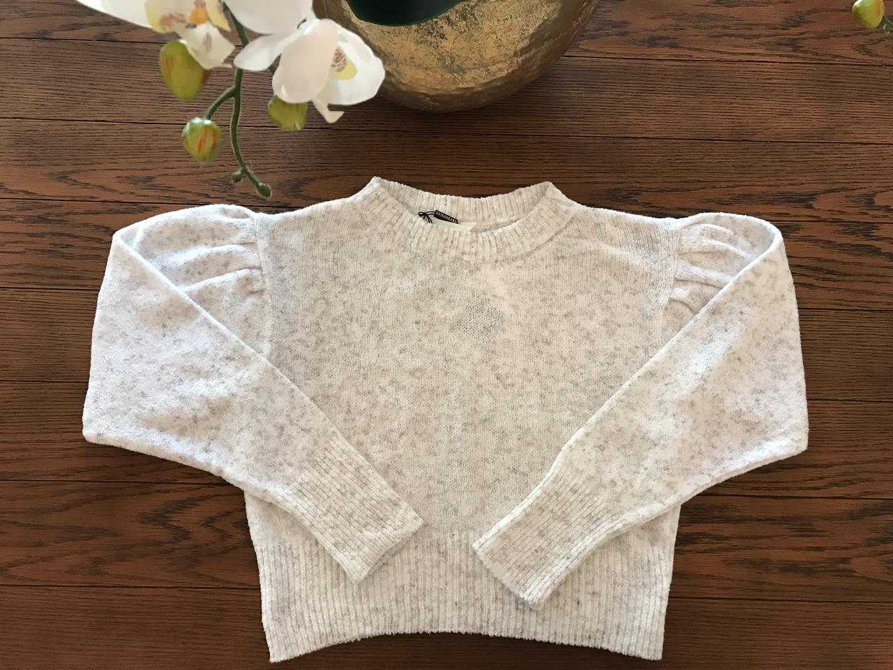 Blusão Tricot Oversized