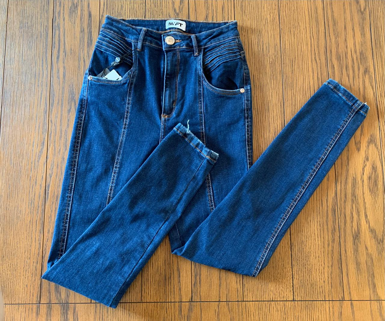 Calça Jeans Ankle Super High