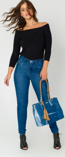 Calça Jeans Skiny Comfort Trich- Mega Flex