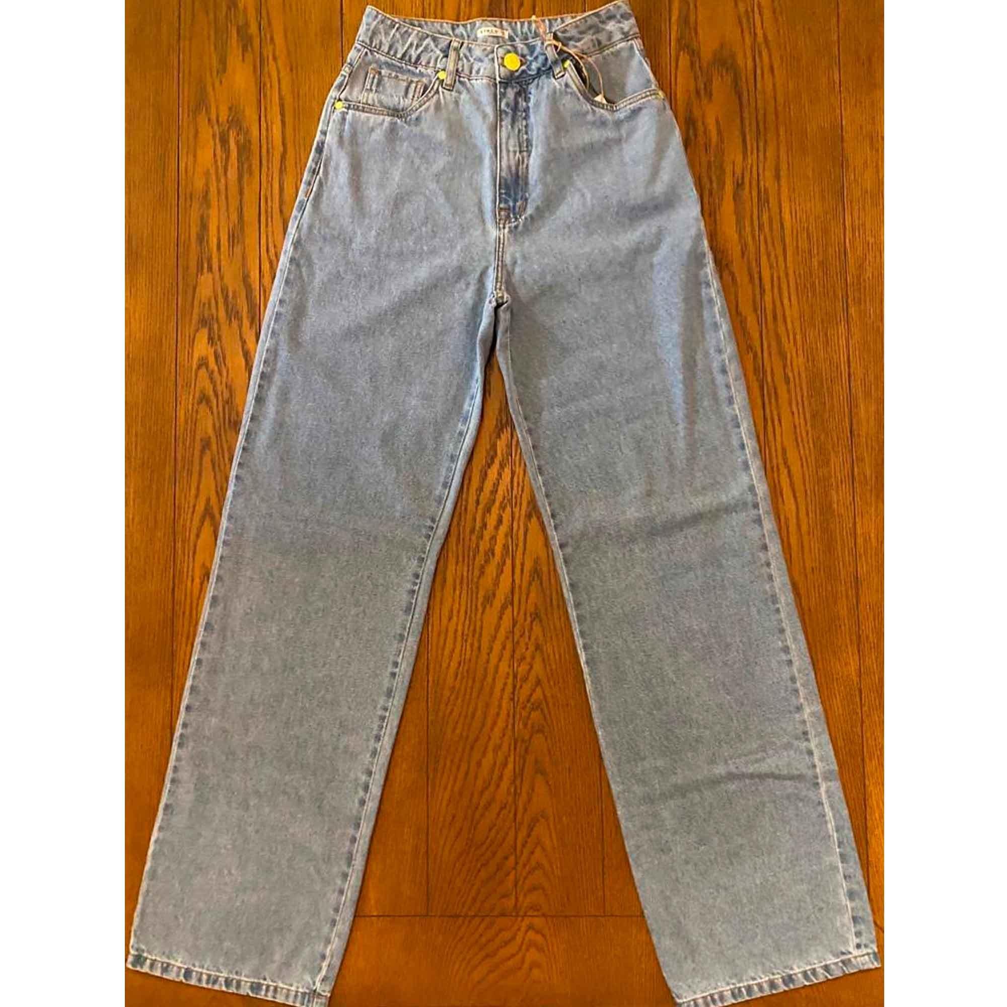 Calça Jeans Wide Leg Zinco
