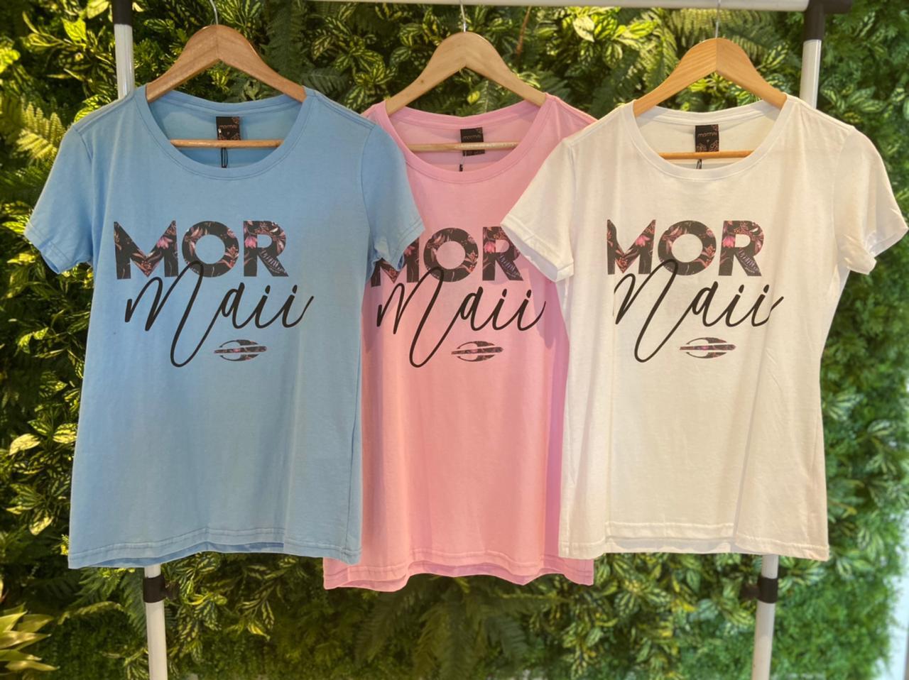 Camiseta Mormaii Feminina MOR Azul