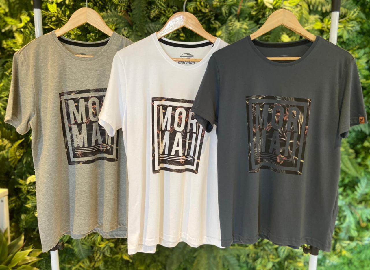 Camiseta Mormaii Unissex Cinza