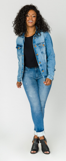 Jaqueta Jeans Tradicional Trich Jeans