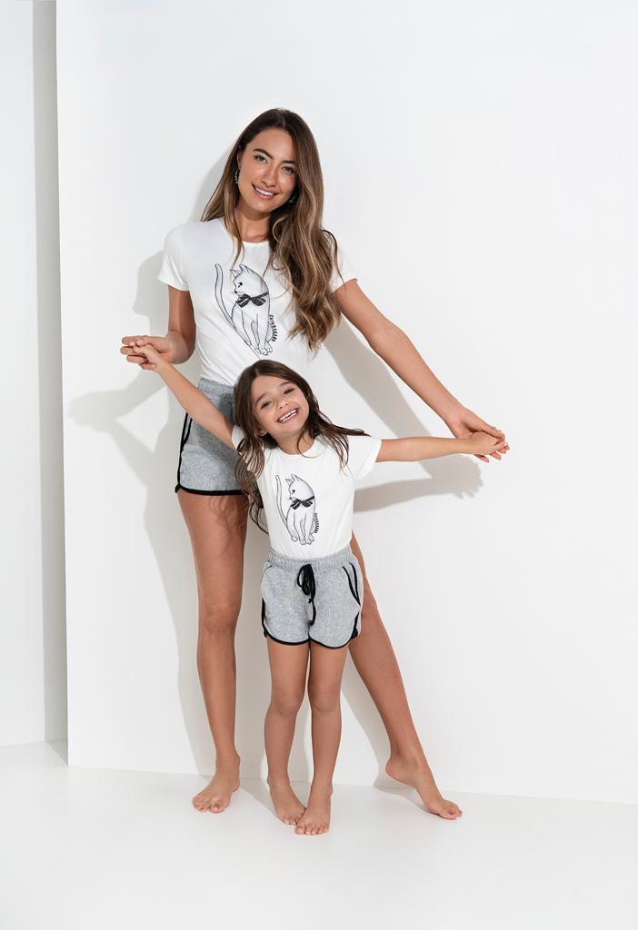 Pijama Malha  Infantil GB