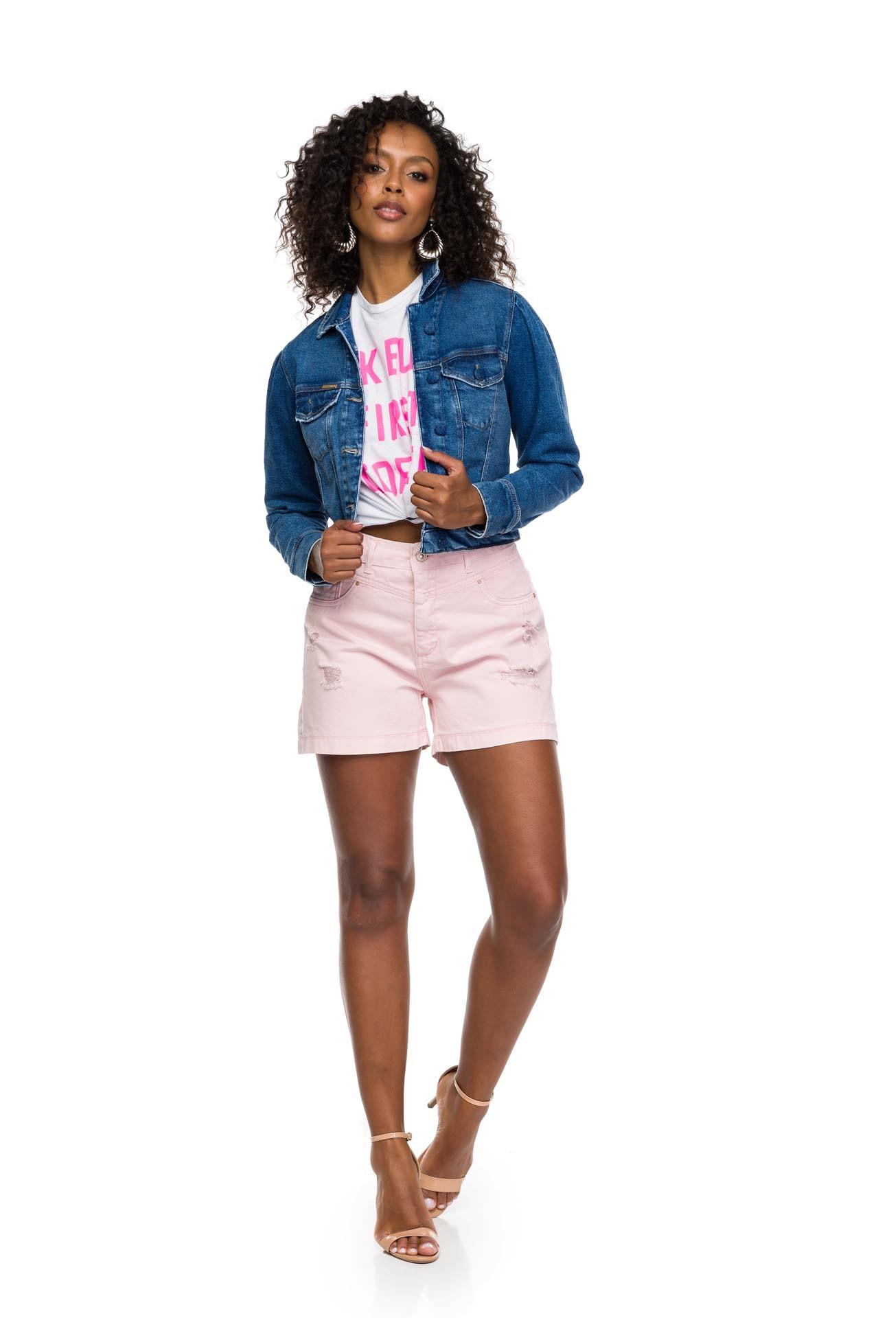 Shorts Hot Rosa